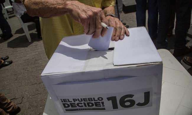 PROTECCIÓN DE LOS DATOS DE LA CONSULTA POPULAR DEL 16J